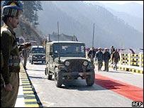 Road in Kashmir