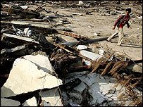 Devastation in Banda Aceh, AP