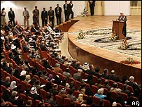 Iraq's National Assembly convenes in Baghdad for the first time on Wednesday