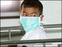 Ronnarit Benpad in hospital in Bangkok, Thailand, Friday, Oct. 21, 2005.