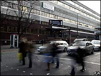 The BBC's Oxford Road studios in Manchester