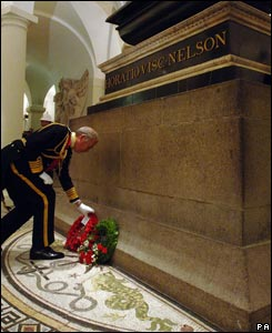 Nelson's tomb