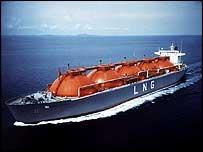 Statoil LNG ship