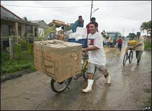 Evacuation in Cuba