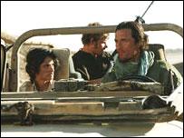 Penelope Cruz, Steve Zahn and Matthew McConaughey in Sahara