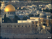 The Temple Mount, or Haram al-Sharif, is holy to Muslims and Jews