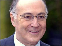 Close-up Michael Howard