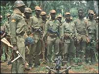 Biafran soldiers in 1967