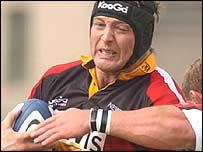 Wales and Dragons lock Ian Gough