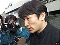Ryuhei Kawada, who contracted HIV as a result of the 'bad blood' scandal (archive photo)