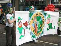 Saint Patrick day celebrations in 2005
