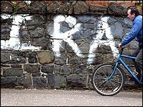IRA graffiti
