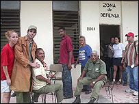 Zona de defensa (Foto Raquel Pérez)