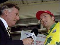 Ian Chappell and Steve Waugh
