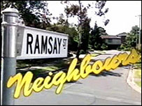 Australian soap Neighbours