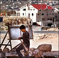 Palestinian labourer