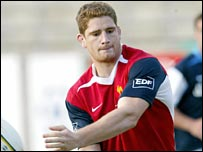 French second rower Pascal Pape