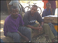 Men in Pemba