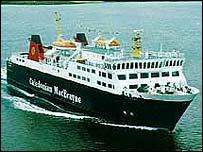 A CalMac ferry