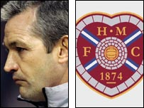 George Burley has left Hearts