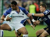 Zak Feaunati helped Bath claim a vital victory