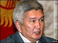 Prime Minister Felix Kulov