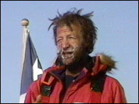Sir Ranulph Fiennes has conquered the South Pole