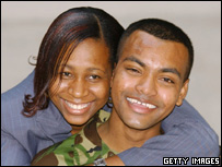 Private Beharry and his wife