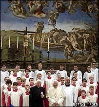 El papa Benedicto XVI en el Vaticano.