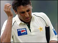 Younis Khan is dismissed