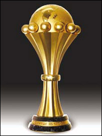 The African Cup of Nations trop
