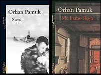 Novelas de Pamuk publicadas por Alfaguara.