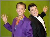 Tony Christie and Peter Kay