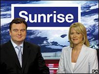 Eamonn Holmes and Lorna Dunkley