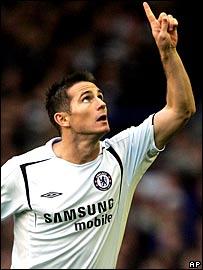 Chelsea scorer Frank Lampard