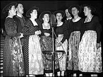 The Trapp Family Singers in 1937