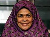 Amina Wadud (photo from muslimwakeup website)