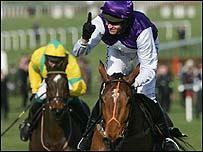 Kicking King and jockey Barry Geraghty