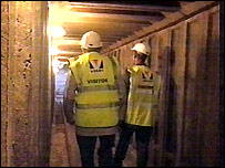 Tunnel under North School in Ashford