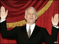Steve Martin at the John F Kennedy Center for Performing Arts' annual award ceremony