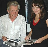 Lord Lichfield and Caroline Briggs