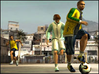Screenshot of Fifa Street, EA