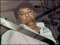 Hemant Lakhani arriving at court
