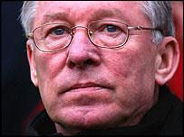 Sir Alex Ferguson, entrenador del Manchester United
