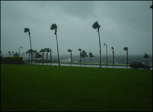 Hurricane Wilma in Sanford, Florida