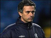 Jose Mourinho, director del Chelsea.
