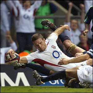 Joe Worsley touches down