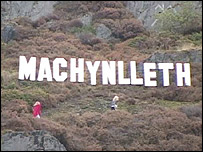 machynlleth sign