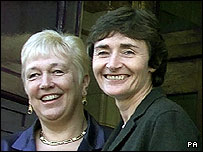 Dame Jean Else and former Education Secretary Estelle Morris