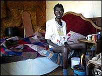 South African HIV patient